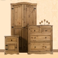 Corona Mexican Pine Bedroom Furniture.