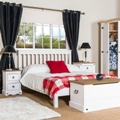 Corona White Washed Bedroom Furniture.