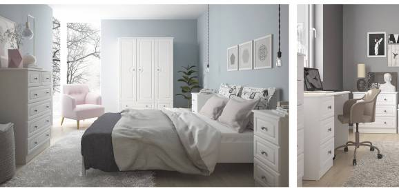 Hampshire White Bedroom