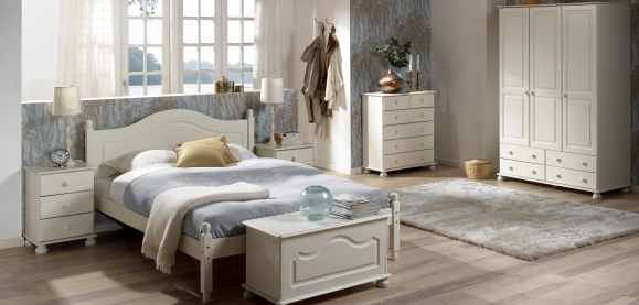 Richmond White Painted Bedroom Furniture