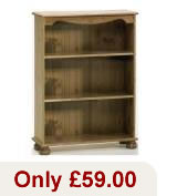 Richmond Pine bookcase