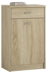 4You 1 Drawer 1 Door Cupboard in Sonama Oak