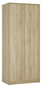 4You 2 door wardrobe in Sonama Oak