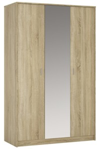 4You 3 door wardrobe (inc mirror) in Sonama Oak