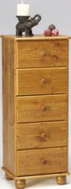 Thornton Narrow 5 drawer chest