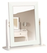 Baroque White Painted Dressing Table Mirror