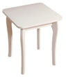 Baroque White Painted Dressing Table Stool