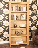 Aston Oak Large Open Bookcase
