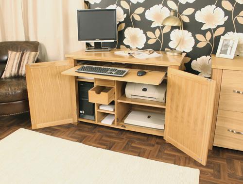hidden home office furniture. Aston Oak Hidden Home Office Desk Hidden Home Office Furniture C