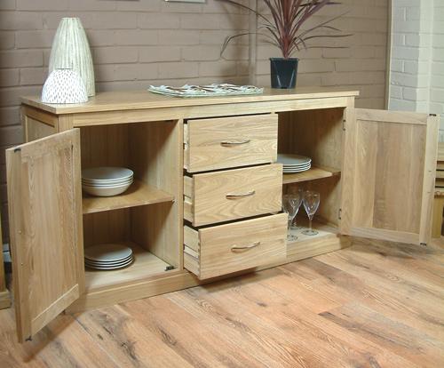 Buy Mobel Oak Large Sideboard Shop Every Store On The Internet Via Pricepi United