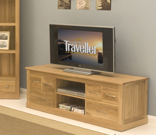 Payless Furniture Store Dining Room Tables: Mobel Oak Widescreen Television Cabinet, Mobel Oak Living