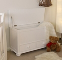 Nutkin Toy / Blanket Box with Drawers