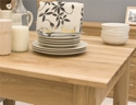 Mobel Oak 1.2 metre Dining Table