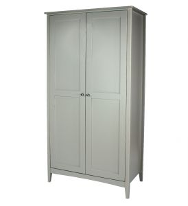 Como Grey 2 Door Wardrobe