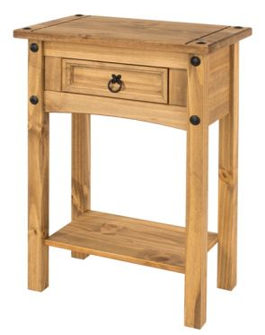 Corona 1 Drawer Small Hall Table