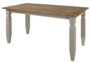 Corona Grey Washed 1.2 Rectangular Dining Table