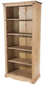 Corona Large Open Bookcase