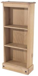 Corona Low Narrow Bookcase