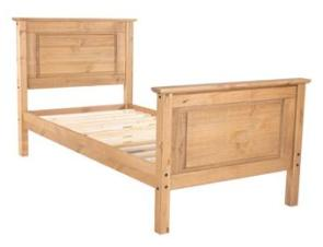 Cotswold Single Bed with High Foot End.