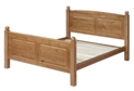 Edwardian Pine 5`0 Kingsize Bed