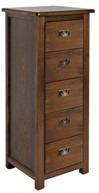 Lincoln 5 drawer narrow chest