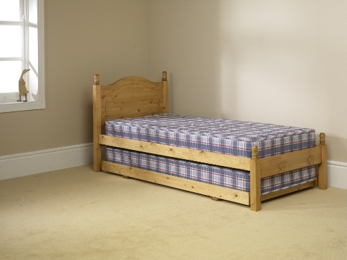Guest Pine Bed.
