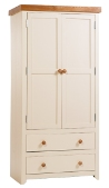 Jamestown 2 Door 2 Drawer Wardrobe