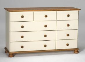 Richmond Cream 3 + 2 + 4 chest of drawers