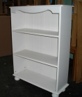Richmond White Bookcase