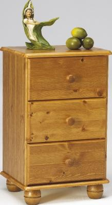 Thornton 3 drawer bedside chest