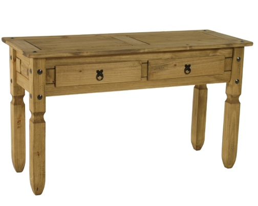 Corona console dressing table