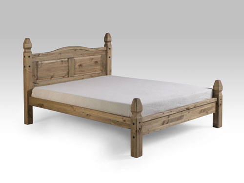 Corona double low end bed