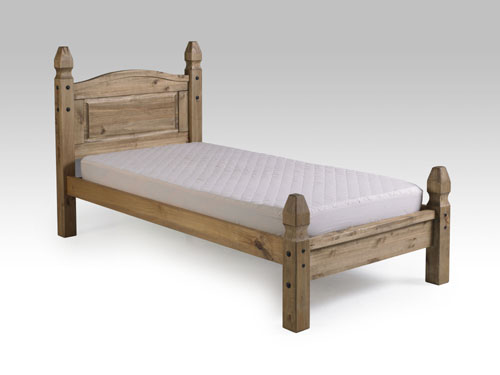 Corona single low end bed