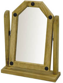 Corona single dressing table mirror