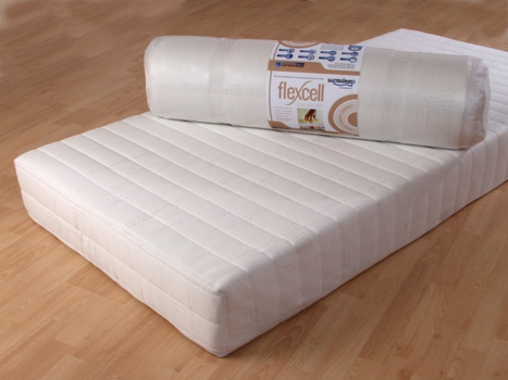 Single size flexcell 1000 Visco Memory foam Mattress