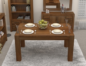 Walnut Large Dining Table (Seats 6-8)