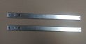 2 x metal runners 27mm x 374mm