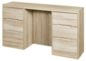 Monaco 6 Drawer Double Dressing Table