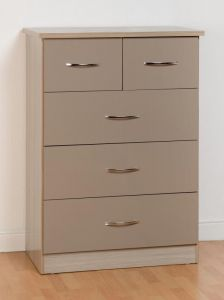 Nevada Oyster 3+2 Drawer Chest