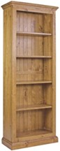 New Wolsingham W26 x H65 Bookcase