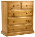 New Wolsingham 3+2 drawer chest