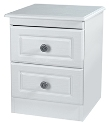 Pembroke 2 Drawer Bedside Locker