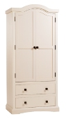 Quebec 2 Door 2 drawer Wardrobe
