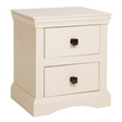 Quebec 2 Drawer Bedside