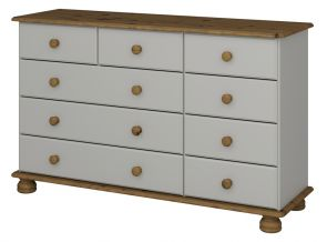 Richmond Grey 3 + 2 + 4 chest of drawers