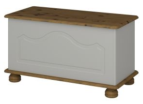 Richmond Grey Blanket Box