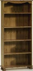 Richmond 4 shelf bookcase