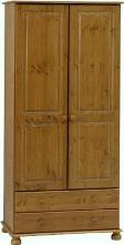 Richmond Pine 2 door 2 drawer wardrobe