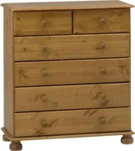 Richmond Pine 4+2 chest