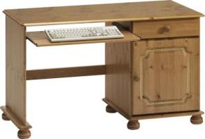 Richmond Home office single desk with cupboard